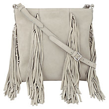Buy Jigsaw Frieda Fringed Bag Online at johnlewis.com