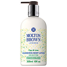 Buy Molton Brown Caju & Lime Nourishing Body Lotion, 300ml Online at johnlewis.com