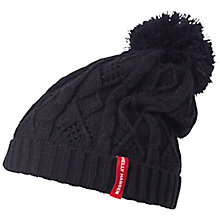 Buy Helly Hansen Cable Knit Beanie, One Size, Blue Online at johnlewis.com