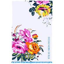 Buy Designers Guild Amrapali Peony Tea Towel Online at johnlewis.com