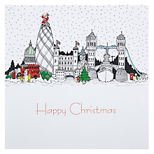 Buy Portfolio Christmas In The City Of London Christmas Card Online at johnlewis.com