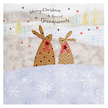 Buy Blue Eyed Sun Grandparents Christmas Card Online at johnlewis.com