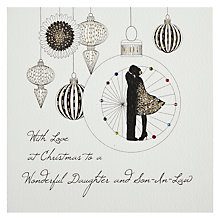 Buy Five Dollar Shake Wonderful Daughter & Son-In-Law Christmas Card Online at johnlewis.com