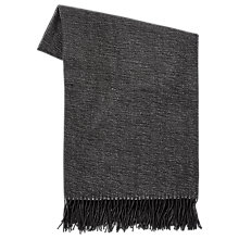 Buy west elm Warmest Yarn Dyed Throw, Slate Online at johnlewis.com