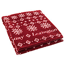 Buy Lexington Holiday Fleece Throw Online at johnlewis.com