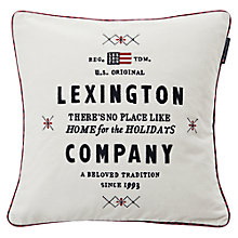 Buy Lexington Holiday Velvet Sham Cushion Cover and Pad Online at johnlewis.com
