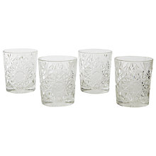 Buy west elm Decorated Glass Tumbler, Clear Online at johnlewis.com