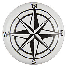 Buy John Lewis Compass Cupboard Knob Online at johnlewis.com