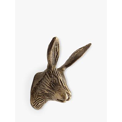John Lewis Brass Hare Cupboard Knob