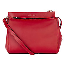 Buy Karen Millen Leather Mini Bag Online at johnlewis.com