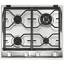 Buy Indesit IP641SCIX Prime Built-In Gas Hob, Stainless Steel Online at johnlewis.com