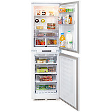 Buy Hotpoint HFF31014 Integrated Fridge Freezer, A+ Energy Rating, 54cm Wide, White Online at johnlewis.com