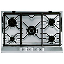 Buy Indesit IP751SCIX Prime Built-In Gas Hob, Stainless Steel Online at johnlewis.com