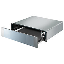 Buy Smeg CTP1015 Linea Integrated Warming Drawer, Stainless Steel Online at johnlewis.com