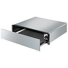 Buy Smeg CTP3015X Integrated Warming Drawer, Stainless Steel Online at johnlewis.com
