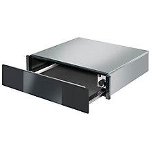 Buy Smeg CTP1015N Linea Integrated Warming Drawer, Black Online at johnlewis.com