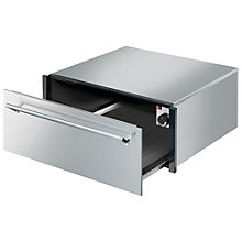 Buy Smeg CT3029X Integrated Warming Drawer, Stainless Steel Online at johnlewis.com