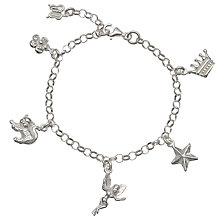 Buy John Lewis Sterling Silver Child's Charm Bracelet Online at johnlewis.com