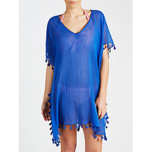 Buy Seafolly Amnesia Kaftan, Blue Online at johnlewis.com