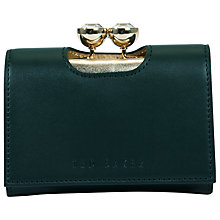 Buy Ted Baker Shyla Leather Crystal Bobble Purse Online at johnlewis.com