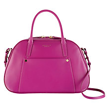 Buy Radley Highbury Barn Leather Multiway Bag, Pink Online at johnlewis.com