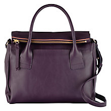 Buy Radley Southbank Medium Leather Multiway Flap Over Bag, Purple Online at johnlewis.com
