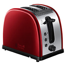 Buy Russell Hobbs Legacy Toaster, Red Online at johnlewis.com