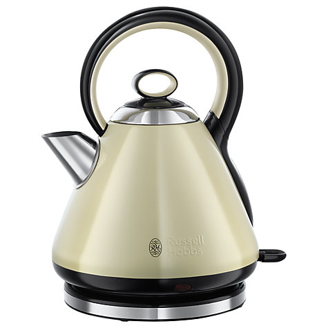 buy russell hobbs legacy electric kettle cream john lewis. Black Bedroom Furniture Sets. Home Design Ideas
