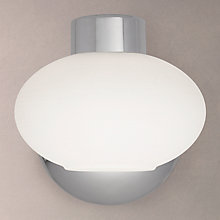 Buy John Lewis Roma 1 Light Wall Light, Chrome Online at johnlewis.com