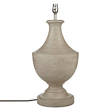 Buy John Lewis Spencer Large Lamp Base, Sand Online at johnlewis.com