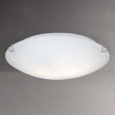 John Lewis Spiros Flush Ceiling Light