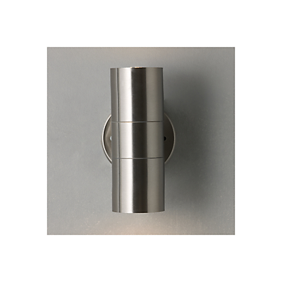 John Lewis Sabrebeam Outdoor Double Wall Light with 2 x 3.5W GU10 LED Bulbs