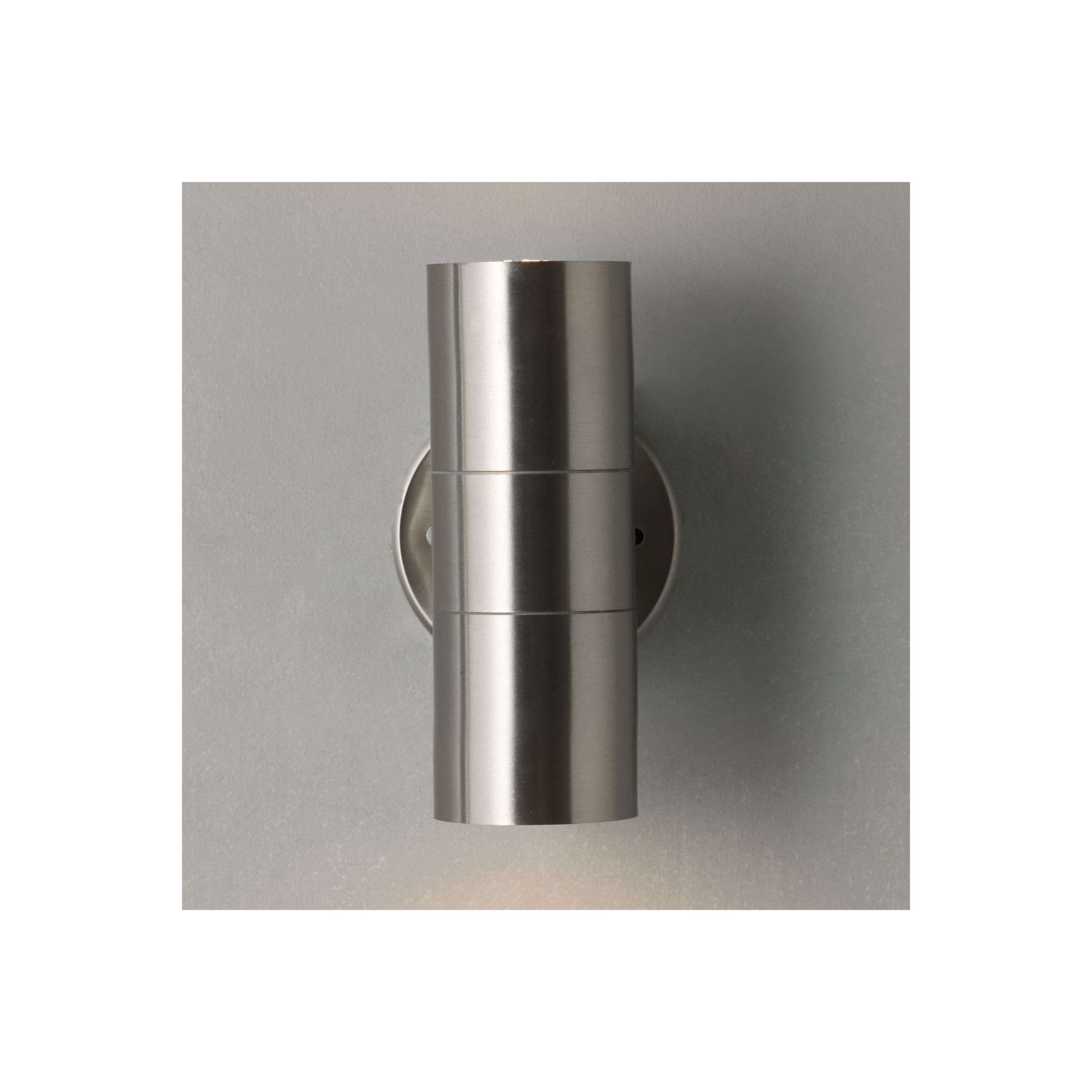 Double Wall Light External : Buy John Lewis Sabrebeam Outdoor Double Wall Light with 2x3.5W GU10 LED Bulbs John Lewis