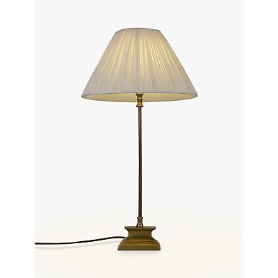 John Lewis Wallace Lamp Base, Brass