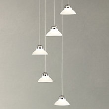Buy John Lewis Ultra LED 5 Light Ceiling Light, White Online at johnlewis.com