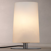 Buy John Lewis Sail Touch Table Lamp, Opal Glass/Chrome Online at johnlewis.com