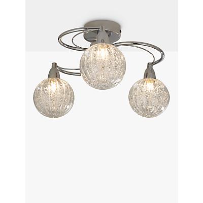 John Lewis Robertson Ceiling Light, 3 Arm