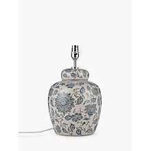 Buy John Lewis Emily Ceramic Lamp Base Online at johnlewis.com