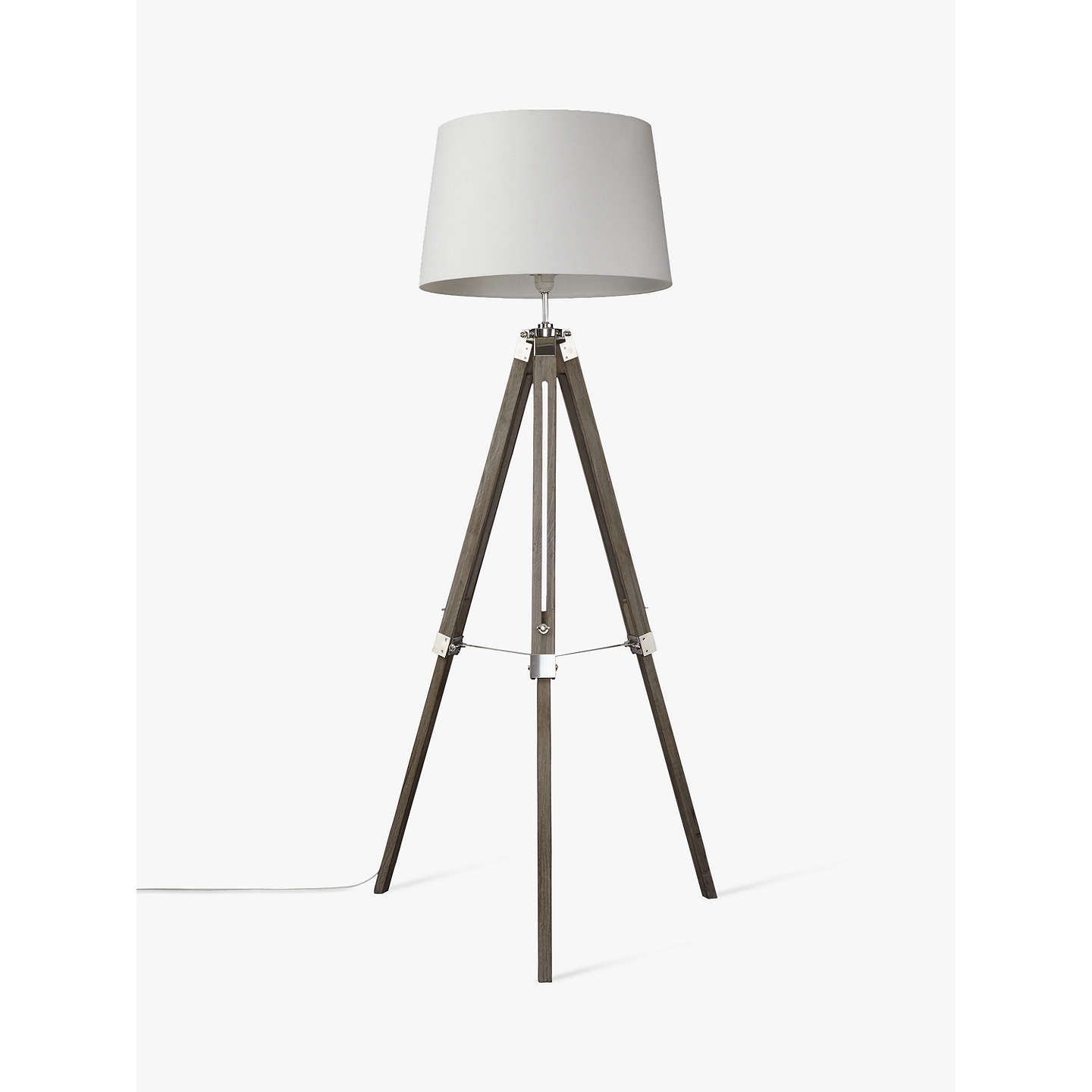 John Lewis Jacques Tripod Floor Lamp At John Lewis