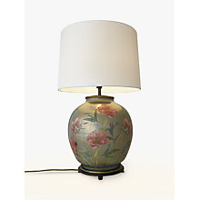 Buy Jenny Worrall Flower Large Round Lamp Base, Multi Online at johnlewis.com
