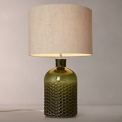 John Lewis Croft Kingsley Glass and Wire Table Lamp