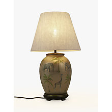 Buy Jenny Worrall Safari Medium Urn Lamp Base, Multi Online at johnlewis.com