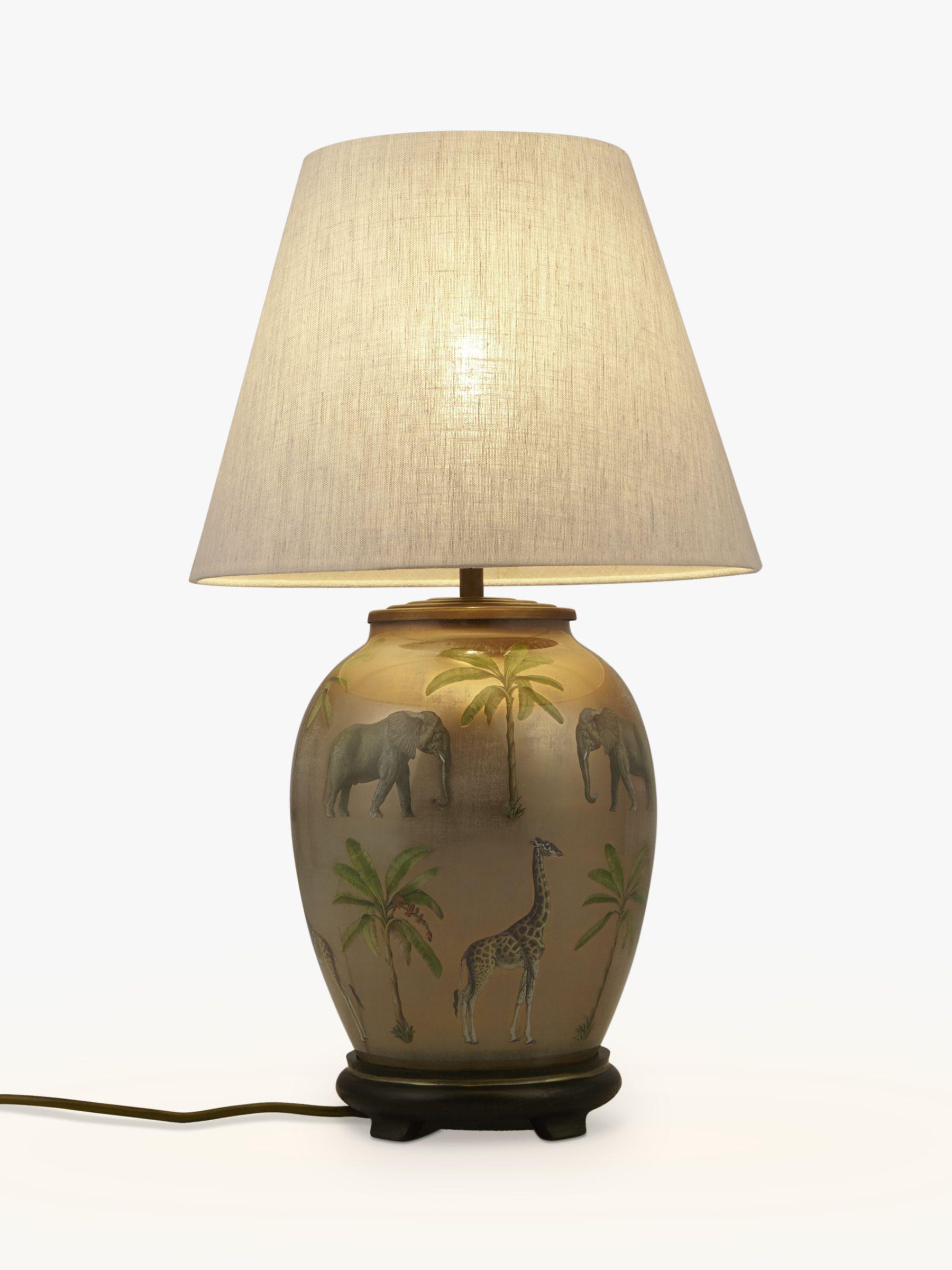 Jenny Worrall Jenny Worrall Safari Medium Urn Lamp Base, Multi