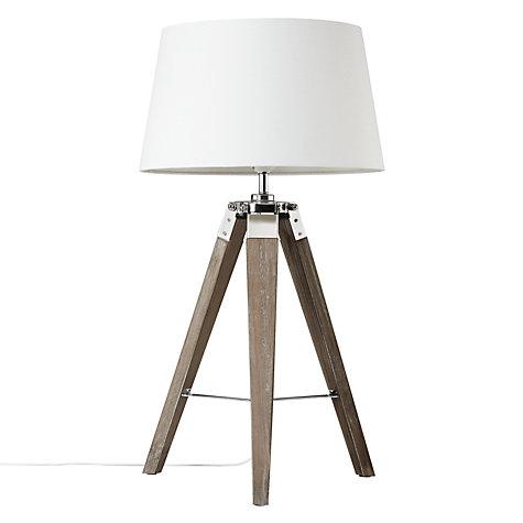 buy john lewis jacques tripod table lamp john lewis. Black Bedroom Furniture Sets. Home Design Ideas
