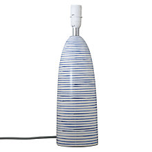 Buy John Lewis Portland Stripe Lamp Base Online at johnlewis.com