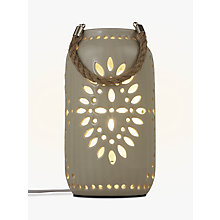 Buy John Lewis Leon Ceramic Lantern Online at johnlewis.com