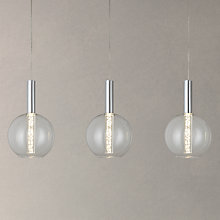 Buy John Lewis Orson LED Bubble 3 Bar Ceiling Light Online at johnlewis.com