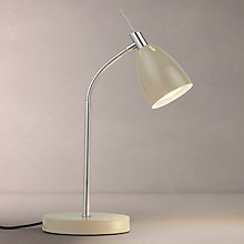 Buy John Lewis Neil Touch Task Lamp, Taupe Online at johnlewis.com