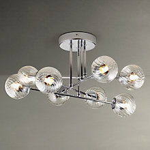 Buy John Lewis Orion Ceiling Light, 8 Arm Online at johnlewis.com
