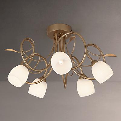 John Lewis Amara Ceiling Light, 5 Arm